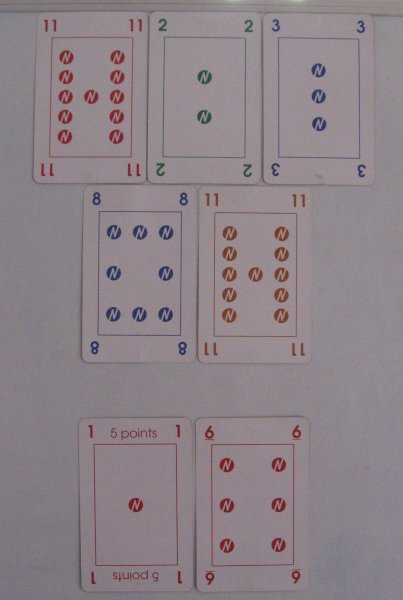 numero A5 cards