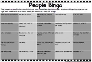 PeopleBingo