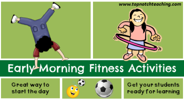 5 Physical Education Activities You Can Use For Early Morning Fitness