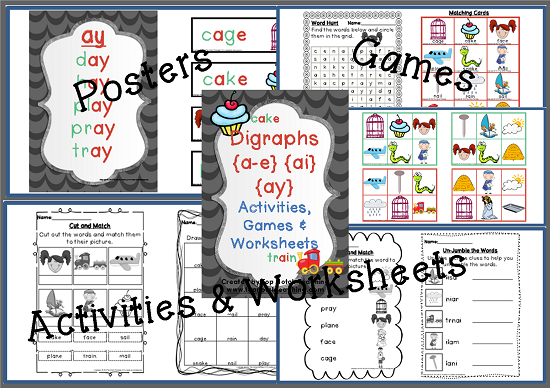 3 Activities To Help Teach Digraphs