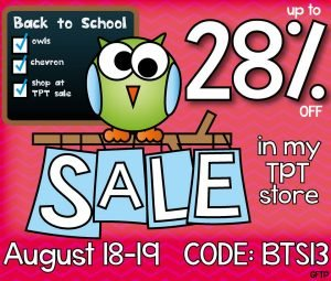 The Spectacular Back To School Sale | topnotchteaching.com