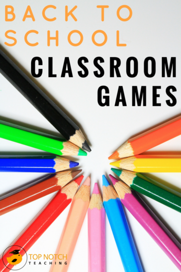 3 Amazing Back To School Classroom Games