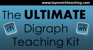The Ultimate Digraph Teaching Kit | topnotchteaching.com