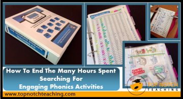 How To End The Many Hours Spent Searching For Engaging Phonics Activities