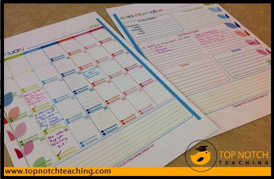 Simplify Your Home And Teaching Schedule | topnotchteaching.com