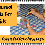 4 Unusual Crafts for Kids