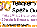 30 Teachers Speak Out: What I Wish I'd Known Before I Decided To Become A Teacher | topnotchteaching.com