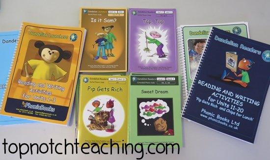 Phonics Books | topnotchteaching.com