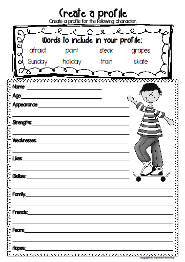 Free writing prompt printable | topnotchteaching.com