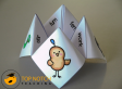 Cootie catchers (or chatterboxes/fortune tellers) are a fun way of combining a popular children's game with some practice in reading and spelling words that have a particular phonics focus. | topnotchteaching.com