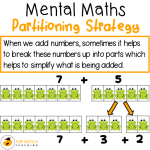 Mental Maths – Partitioning Strategy