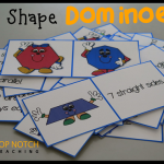 Free 2D Shape Dominoes