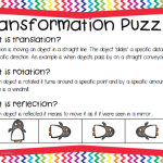 Free Transformation Puzzles