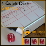 4 Quick Dice Games