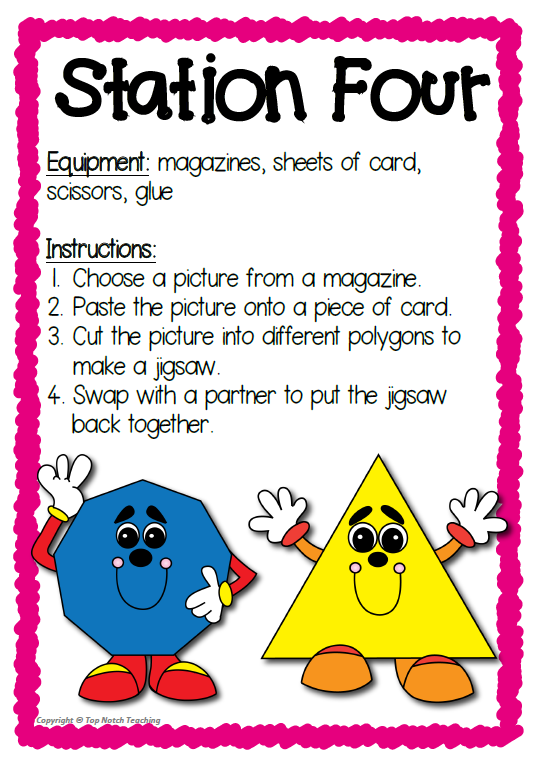 polygon shapes worksheets