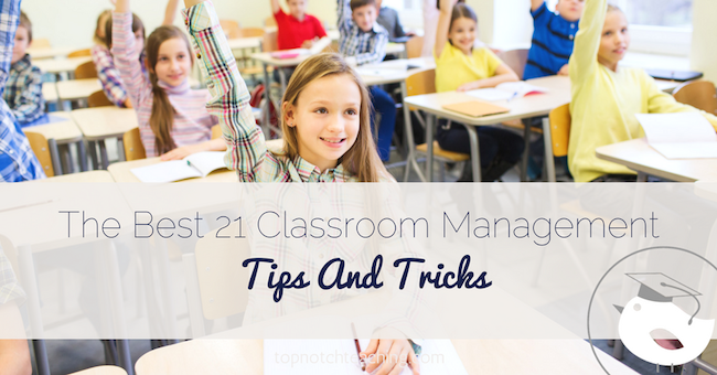 Doesn't every teacher dream of an efficient classroom where no problems occur and lessons run smoothly? Here are 21 classroom management tips.