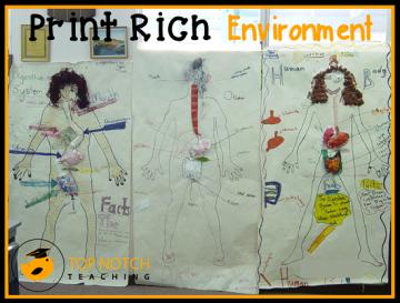 6 Strategies To Create A Print Rich Environment