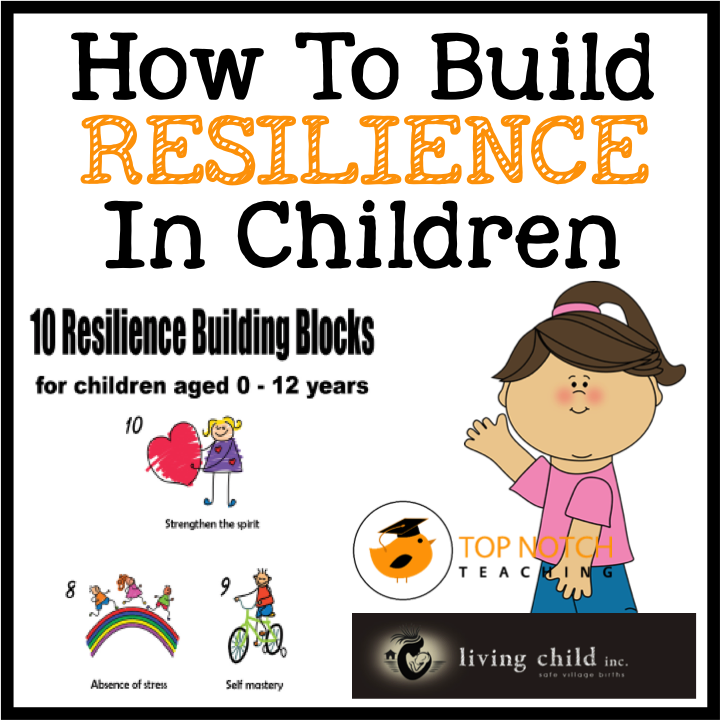 resilience worksheets