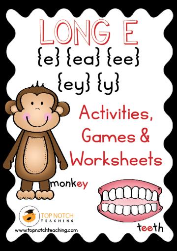 Long Vowel Sounds: Activities & Games