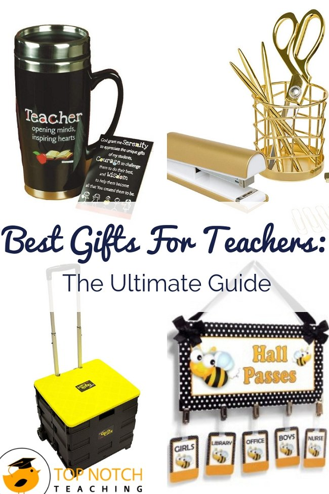 Are you on the hunt for a teacher gift? Maybe you need to buy a gift for your child's teacher, or your teaching buddy next door. Or maybe your bestie is a teacher, so you need something just right for them. No need to panic...I've got you covered with these cool gifts for teachers. Great for Christmas or the end of year or just to say thank you, you can't go wrong with any of these. #christmasgifts #teacherpresent #teachergift #teachergiftideas #teacherappreciation