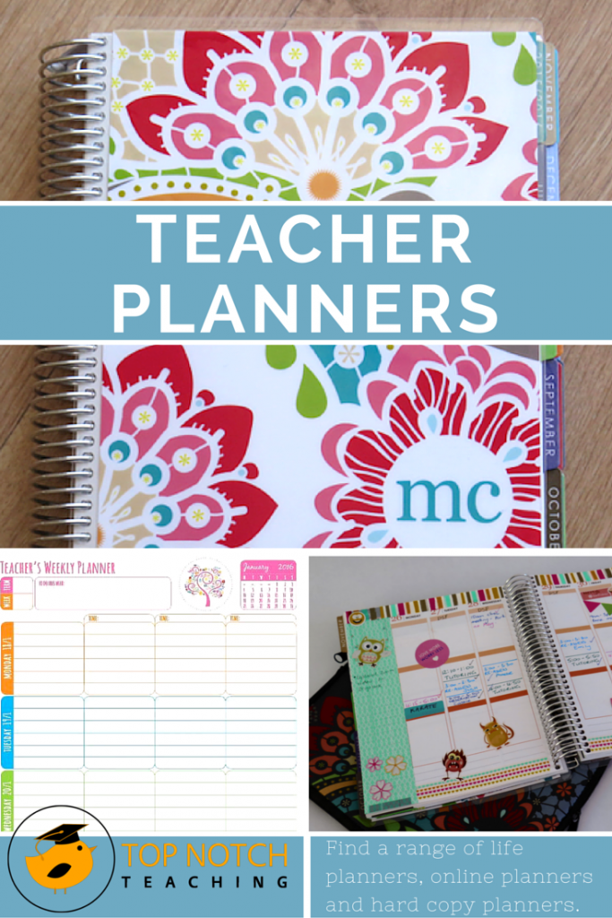 Here you'll find some of the best teacher planners; some are great if you have a classroom role and others are better if you have a bit of a mixed role.