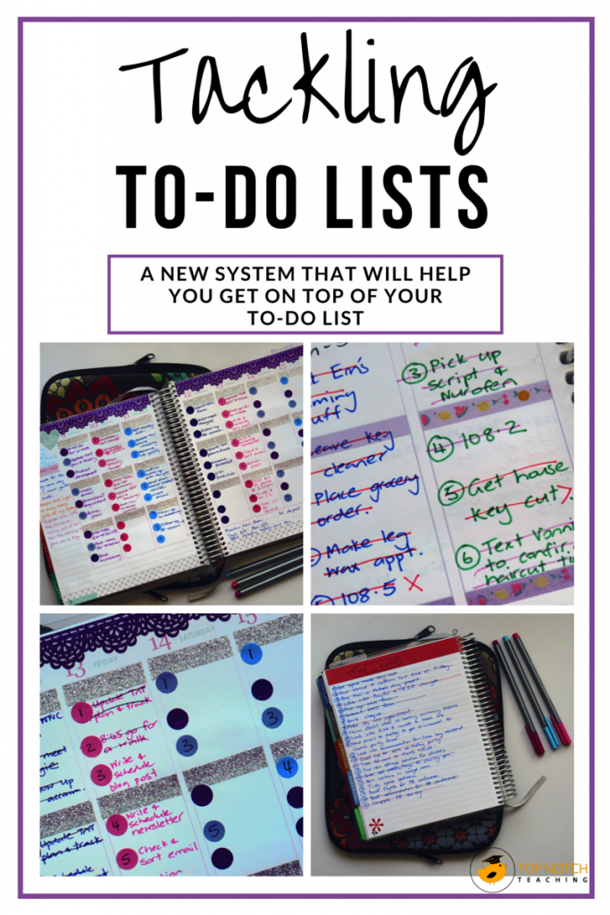 Do you have a system in place for tackling your to-do list? If not, then here you'll find a new system that will help you get on top of your to-do list.