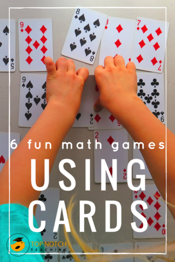 6 Fun Math Games Using Cards