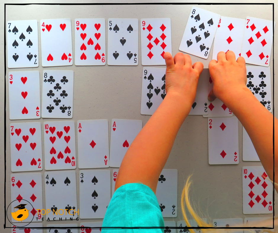 6 Fun Math Games Using Cards | Top Notch Teaching