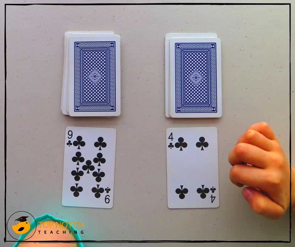 6 Fun Math Games Using Cards | Top Notch Teaching