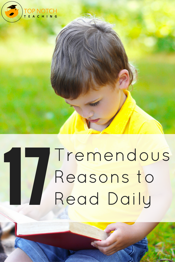 What are the benefits of reading? What are some reasons for kids to read? This list will provide you with some helpful reasons to encourage kids to read.