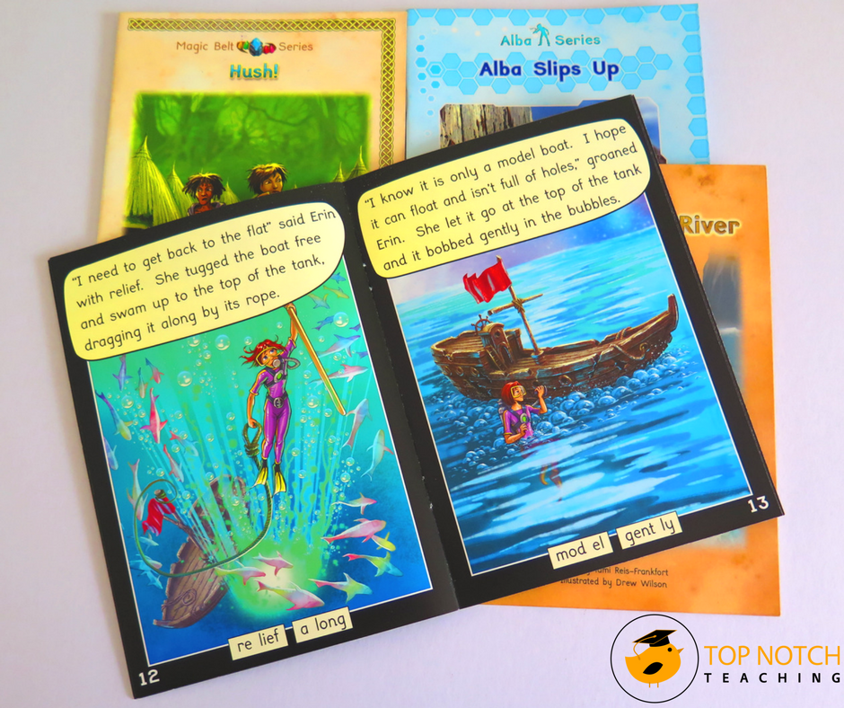 Do you use decodable reading books with your beginning readers? Here are some examples of good quality reading books your students will love.