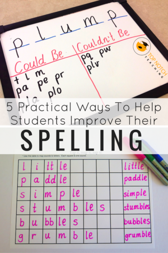 5 Practical Ways To Help Students Improve Their Spelling