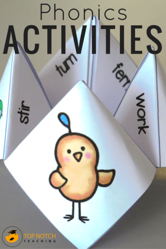 The Best Phonics Activities All In One Place
