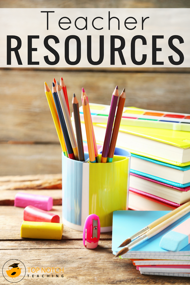 Whether you're a classroom teacher, or teacherpreneur you're sure to find some useful teacher resources to help make your life that little bit easier.