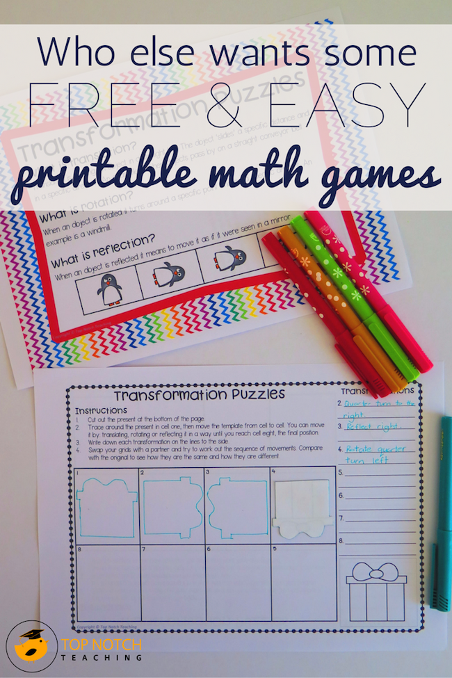 picture relating to Printable Maths Games and Puzzles titled Who Else Needs Some Cost-free Straightforward Printable Math Video games? - Supreme
