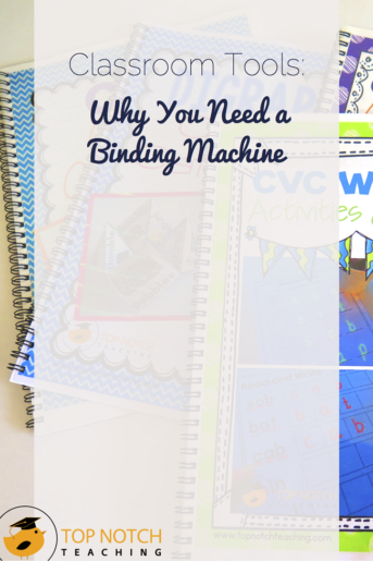 Classroom Tools: Why You Need a Binding Machine