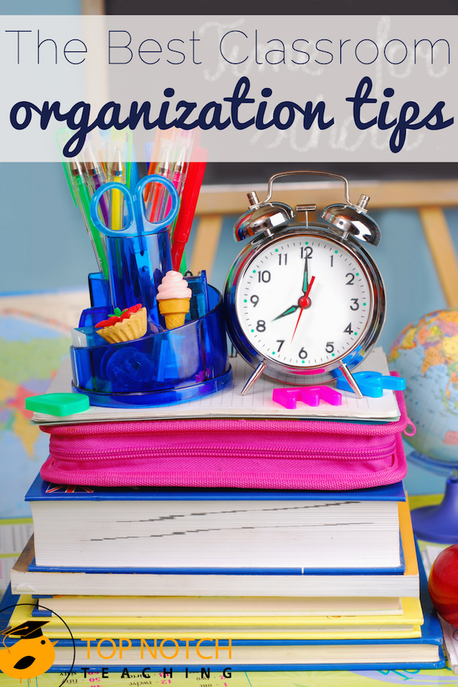 You're an amazing teacher and you're doing your best, but teaching can be exhausting. Here you'll find 20 of the best classroom organization tips & tricks.