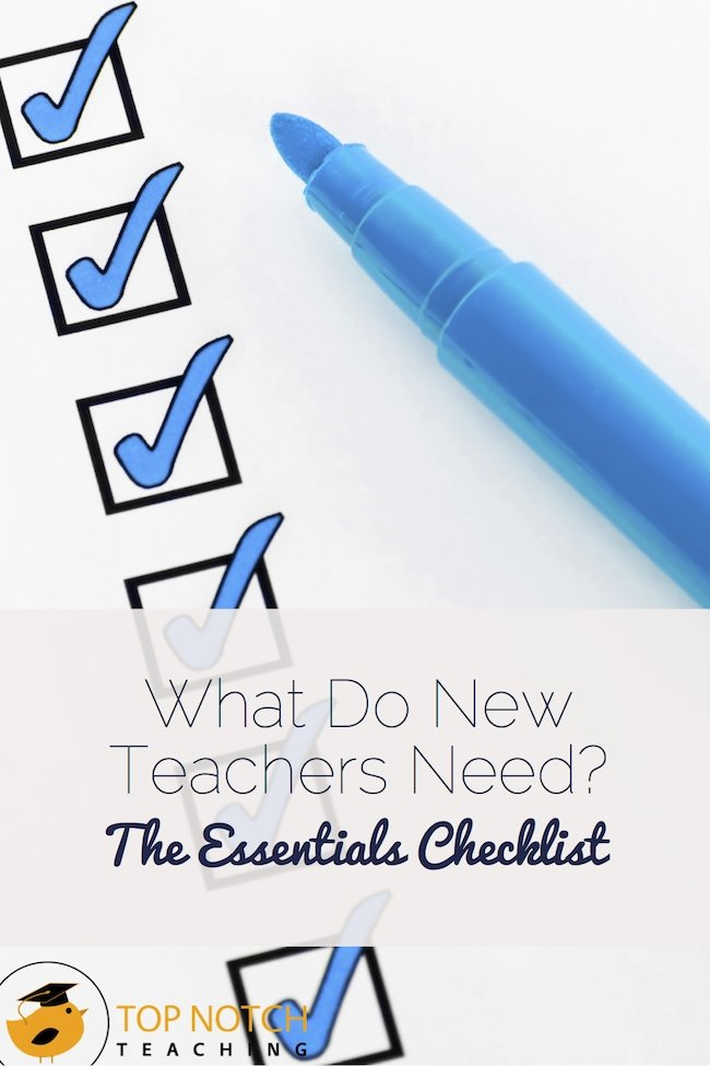 Many new teachers face a myriad of difficulties in their first year of teaching. Here are some of the essentials you need to consider when getting started.