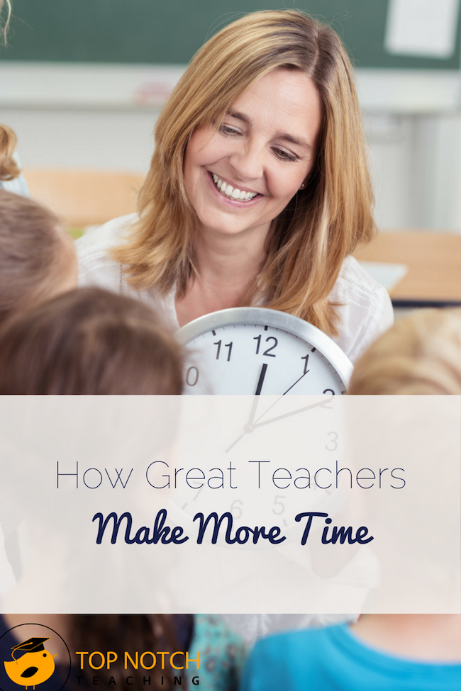 Great teachers know the secret to making more time is not doing everything from scratch. Great teachers learn from others, share tips, and find great resources.
