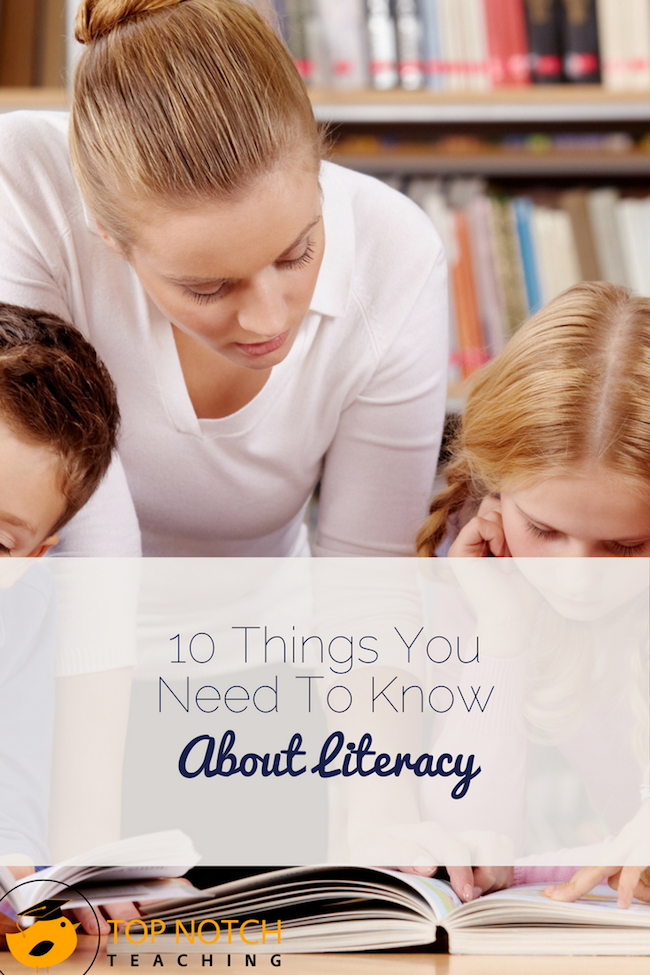 As teachers we need to know a lot about literacy, including a variety of ways to teach it to learners with varying experience, needs, and skills.