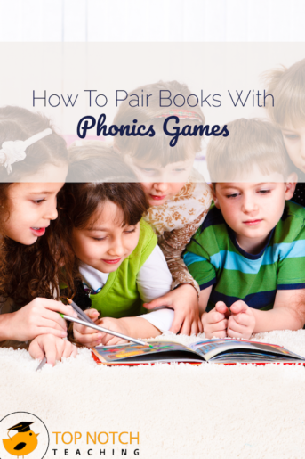 How To Pair Books With Phonics Games