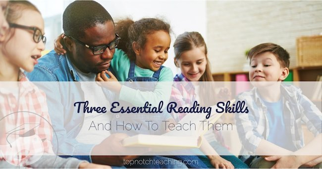 How do we help students learn to read with less struggle? We help them learn to decode and build the 3 essential reading skills.