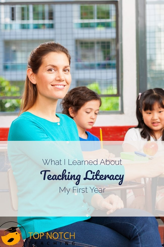 I learned a lot about teaching literacy my first year and have continued to learn and hone my skills. I'm passionate about helping others teach literacy.