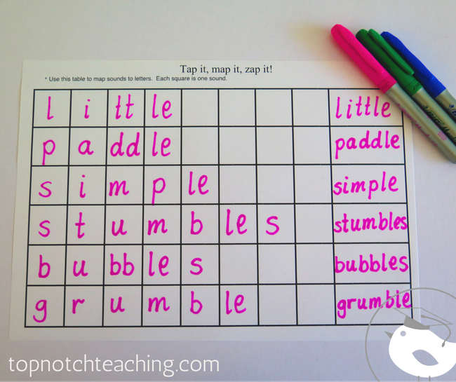 To make phonics homework easier—on you—I've put together a quick pack of worksheets and a home practice tracker.