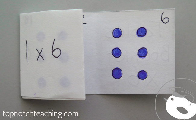 Today I'm sharing a times tables booklet that your students can use to review or quiz themselves and an easy card game for practicing times tables facts.