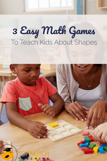 3 Easy Math Games To Teach Kids About Shapes