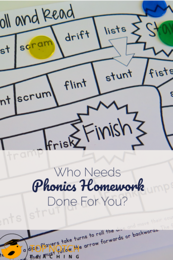 Who Needs Phonics Homework Done For You?