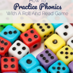 How To Practice Phonics Skills With A Roll And Read Game