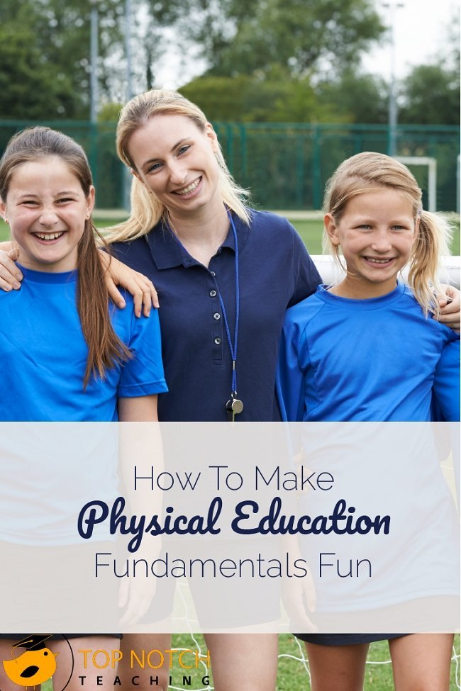 Sometimes you need to start with the fundamentals of physical education. Here are 3 games you can play to have fun while practicing these basic skills.