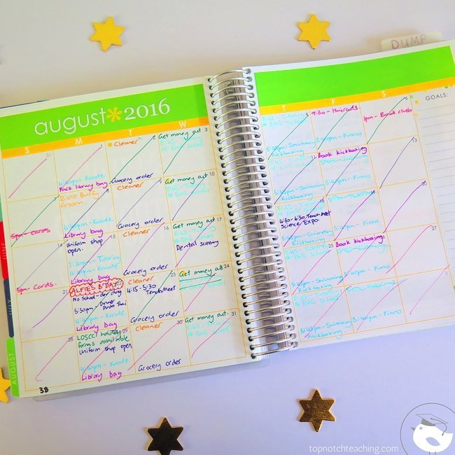 A teacher planner can help you get focused and organized. Today I'll explain some features of my favorite planners to help you explore your options.